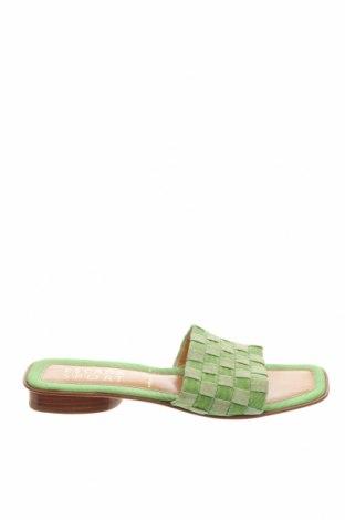 Papuci Escada Sport, Mărime 37, Culoare Verde, Textil, Preț 254,60 Lei