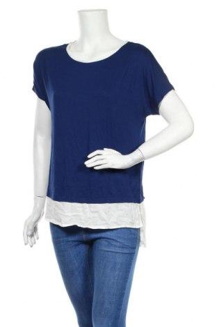 Дамска блуза Esprit, Размер S, Цвят Син, 95% вискоза, 5% еластан, Цена 6,57лв.