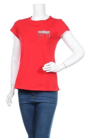 Дамска блуза Faina, Размер S, Цвят Червен, Памук, Цена 14,04лв.
