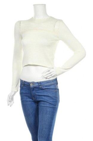 Дамска блуза H&M Divided, Размер XS, Цвят Екрю, Полиестер, вискоза, еластан, полиамид, Цена 7,02лв.