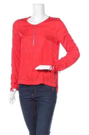 Дамска блуза Q/S by S.Oliver, Размер S, Цвят Червен, 54% полиестер, 46% вискоза, Цена 7,66лв.