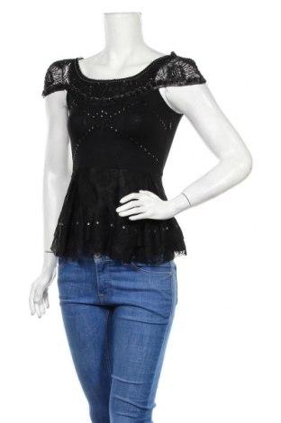 Дамска блуза Topshop, Размер XS, Цвят Черен, Полиамид, Цена 8,40лв.