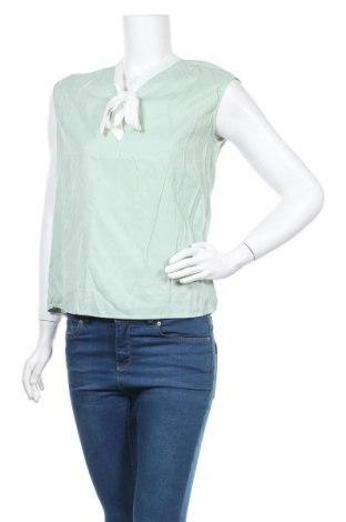 Дамска блуза Usha, Размер S, Цвят Зелен, 50% вискоза, 40% полиамид, 10% лиосел, Цена 14,25лв.