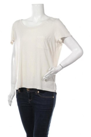 Дамска блуза Vero Moda, Размер L, Цвят Бежов, 88% полиестер, 12% лен, Цена 10,40лв.