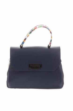 Γυναικεία τσάντα Anna Morellini, Χρώμα Μπλέ, Δερματίνη, Τιμή 57,41€