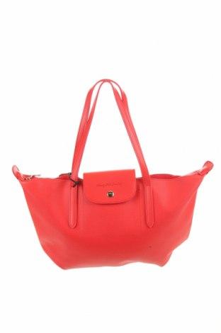 Дамска чанта Beverly Hills Polo Club, Цвят Червен, Еко кожа, Цена 50,70лв.