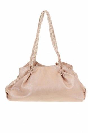 Дамска чанта Blumarine, Цвят Розов, Естествена кожа, текстил, Цена 102,86лв.