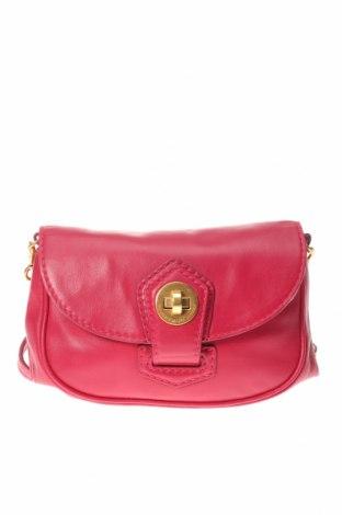 Дамска чанта Marc By Marc Jacobs, Цвят Розов, Естествена кожа, Цена 162,00лв.
