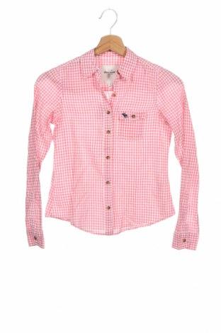 Γυναικείο πουκάμισο Abercrombie & Fitch, Μέγεθος S, Χρώμα Ρόζ , 100% βαμβάκι, Τιμή 8,66€