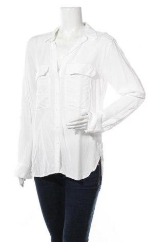 Γυναικείο πουκάμισο Zara, Μέγεθος L, Χρώμα Λευκό, Τιμή 6,70€