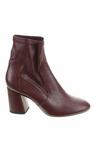 Dámské boty  Bershka, Velikost 40, Barva Červená, Eko kůže, Cena  302,00Kč