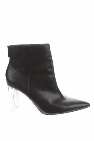 Dámské boty  Bershka, Velikost 40, Barva Černá, Eko kůže, Cena  320,00Kč