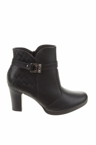 Дамски боти Piccadilly, Размер 38, Цвят Черен, Еко кожа, Цена 48,95лв.