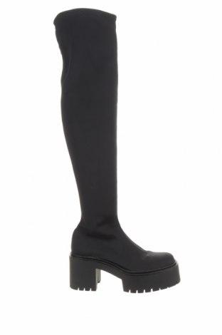 Dámské boty  Bershka, Velikost 36, Barva Černá, Textile , Cena  513,00Kč