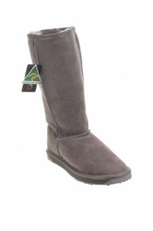 Дамски ботуши EMU Australia, Размер 37, Цвят Сив, Естествен велур, Цена 201,75лв.