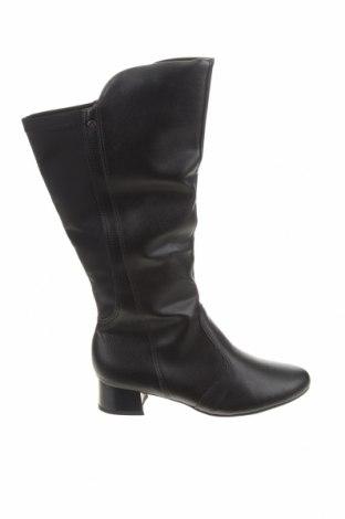 Дамски ботуши Piccadilly, Размер 39, Цвят Черен, Еко кожа, Цена 54,45лв.