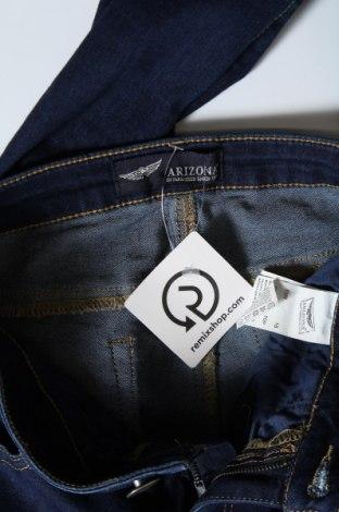 Дамски дънки Arizona, Размер S, Цвят Син, 74% памук, 24% полиестер, 2% еластан, Цена 25,32лв.