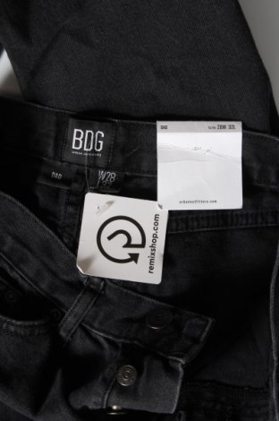Дамски дънки BDG, Размер S, Цвят Черен, Памук, Цена 28,11лв.