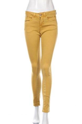 Дамски дънки Cream, Размер XS, Цвят Жълт, 65% памук, 33% полиестер, 2% еластан, Цена 81,75лв.