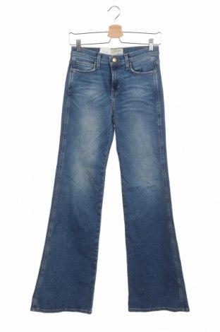 Дамски дънки Current/Elliott, Размер S, Цвят Син, 92% памук, 6% полиестер, 2% еластан, Цена 39,11лв.