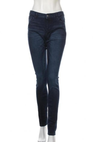 Дамски дънки Edc By Esprit, Размер M, Цвят Син, 82% памук, 17% полиестер, 1% еластан, Цена 19,79лв.