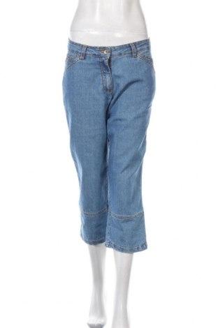 Дамски дънки Gina Laura, Размер M, Цвят Син, 78% памук, 20% полиестер, 2% еластан, Цена 7,42лв.