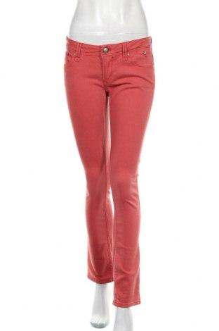 Дамски дънки Hilfiger Denim, Размер M, Цвят Розов, Цена 23,19лв.