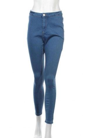 Дамски дънки Missguided, Размер L, Цвят Син, 66% памук, 32% полиестер, 2% еластан, Цена 39,00лв.