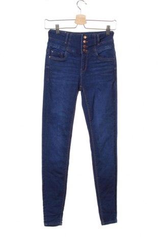Дамски дънки New Look, Размер S, Цвят Син, 99% памук, 1% еластан, Цена 39,00лв.