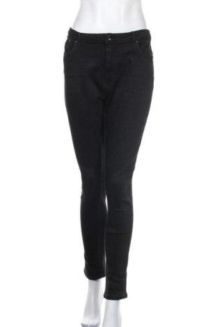 Дамски дънки ONLY, Размер XL, Цвят Черен, 98% памук, 2% еластан, Цена 28,62лв.