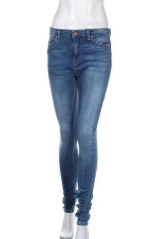 Дамски дънки ONLY, Размер M, Цвят Син, 98% памук, 2% еластан, Цена 20,10лв.