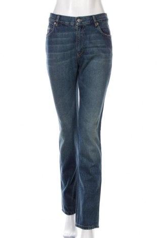 Blugi de femei Prada, Mărime M, Culoare Albastru, 100% bumbac, Preț 371,05 Lei