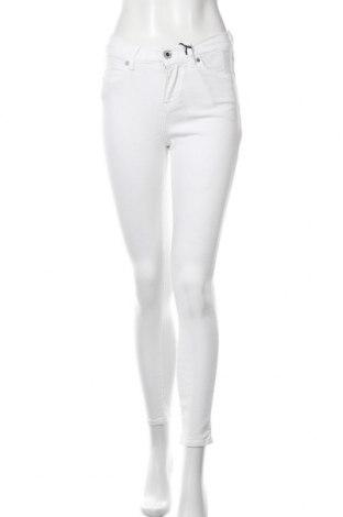Дамски дънки Seven 7, Размер M, Цвят Бял, 70% текстил, 18% полиестер, 10% вискоза, 2% еластан, Цена 22,61лв.