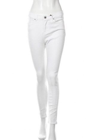 Дамски дънки Seven 7, Размер M, Цвят Бял, 70% текстил, 18% полиестер, 10% вискоза, 2% еластан, Цена 23,45лв.