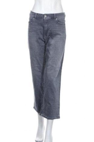 Дамски дънки Trenery, Размер M, Цвят Син, 93% памук, 6% полиестер, 1% еластан, Цена 11,34лв.