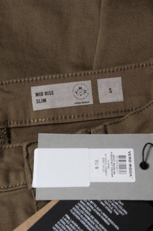 Дамски дънки Vero Moda, Размер S, Цвят Зелен, 97% памук, 3% еластан, Цена 12,33лв.