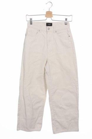 Дамски дънки Vero Moda, Размер XS, Цвят Екрю, Памук, Цена 27,30лв.
