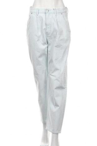Дамски дънки Weekday, Размер S, Цвят Син, 100% памук, Цена 30,38лв.