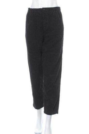 Дамски джинси Zara, Размер L, Цвят Черен, Памук, Цена 55,50лв.