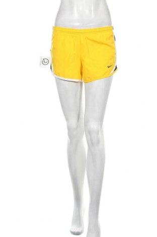 Dámské kraťasy  Nike, Velikost M, Barva Žlutá, Polyester, Cena  316,00Kč