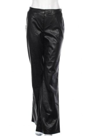 Дамски кожен панталон Stieglitz, Размер S, Цвят Черен, Еко кожа, Цена 21,74лв.