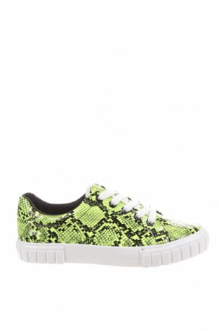 Dámské boty  Bershka, Velikost 38, Barva Zelená, Eko kůže, Cena  305,00Kč