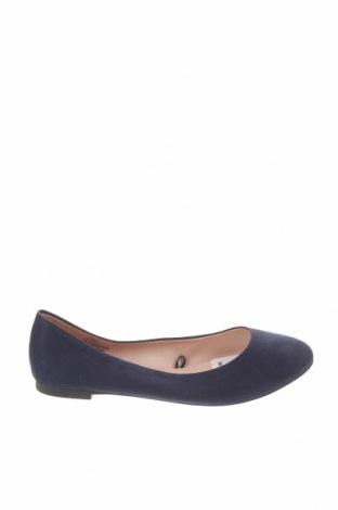 Дамски обувки H&M, Размер 37, Цвят Син, Текстил, Цена 12,96лв.