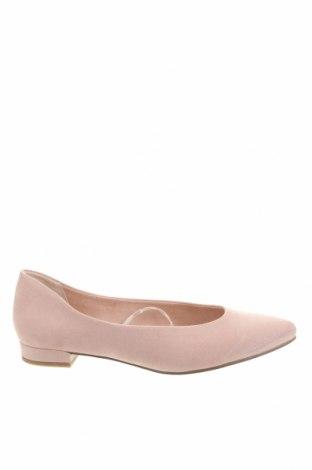 Дамски обувки Marco Tozzi, Размер 37, Цвят Розов, Текстил, Цена 27,44лв.