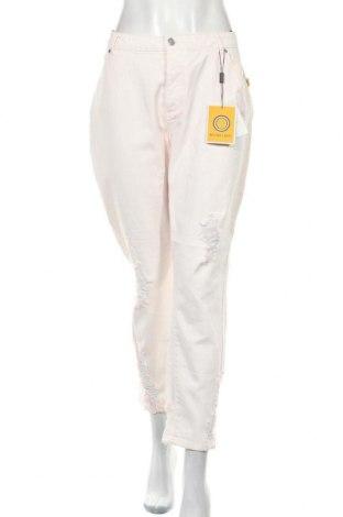 Дамски панталон, Размер L, Цвят Розов, Памук, Цена 10,32лв.