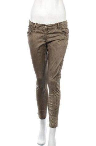Дамски панталон, Размер L, Цвят Бежов, 97% памук, 3% еластан, Цена 15,96лв.