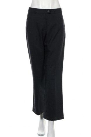 Дамски панталон, Размер M, Цвят Син, 81% полиестер, 19% вискоза, Цена 4,72лв.