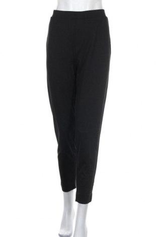 Дамски панталон Amisu, Размер XL, Цвят Черен, 67% вискоза, 30% полиестер, 3% еластан, Цена 12,98лв.