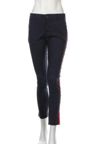 Дамски панталон Anna Ellis, Размер M, Цвят Син, 65% памук, 32% полиамид, 3% еластан, Цена 18,55лв.
