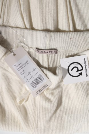 Дамски панталон Anna Field, Размер S, Цвят Бял, 76% вискоза, 21% полиестер, 3% еластан, Цена 15,42лв.